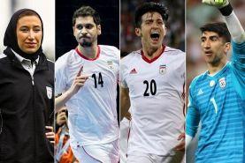 سه بازیکن و یک مربی ایرانی در بین نامزدهای نهایی برترین های فوتبال آسیا