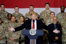 سفر سرزده ترامپ به افغانستان