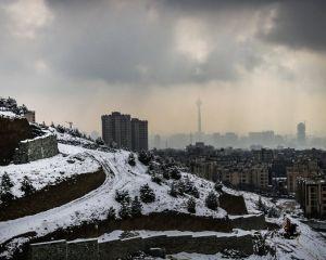 حال و هوای برفی در تهران