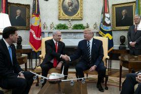 دیدار ترامپ و نتانیاهو