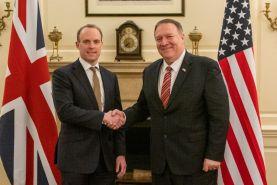 دیدار وزرای خارجه آمریکا و انگلیس
