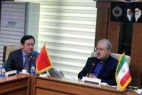 دیدار سفیر چین در ایران با وزیر بهداشت