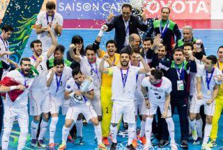 ایران میزبان رقابت های فوتسال قهرمانی آسیا می شود