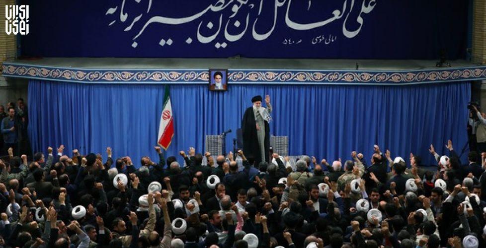 دیدار مردم آذربایجان شرقی با رهبر انقلاب