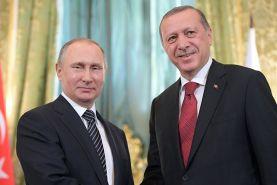 دیدار پوتین و اردوغان در روسیه