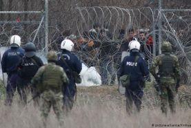 آخرین وضعیت پناهجویان در مرز میان ترکیه و یونان