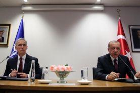 دیدار دبیرکل ناتو و اردوغان