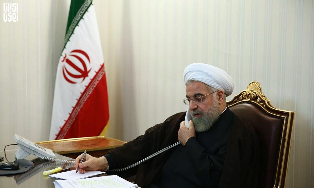 تماس تلفنی روحانی با استانداران قم ، گیلان و مازندران