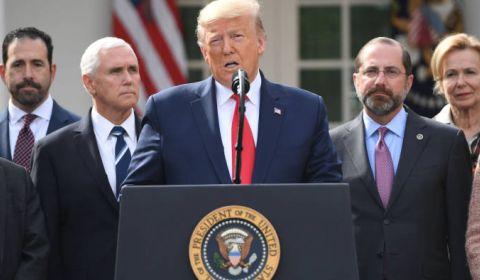 ترامپ در آمریکا وضعیت اضطراری اعلام کرد