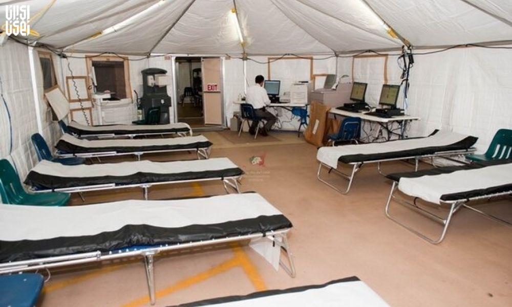 راهاندازی بیمارستان صحرایی در گرمسار و دامغان