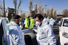 ضدعفونی مستمر مراکز خدمات  عمومی در منطقه ۲
