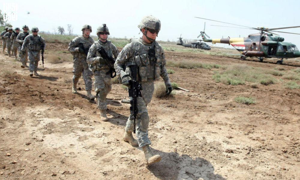 حمله موشکی پایگاه نظامی التاجی
