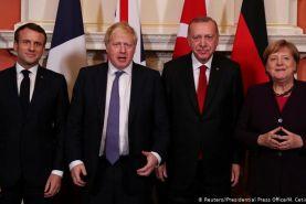 ویدیوکنفرانس آلمان، فرانسه، بریتانیا و ترکیه درباره پناهجویان و کرونا