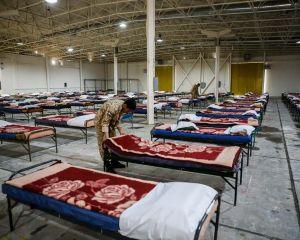 روند برپایی بیمارستان و نقاهتخانه 2000 تخت خوابی نزاجا در تهران