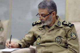 تبریک فرمانده کل ارتش به مناسبت روز پاسدار