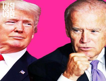 برتری جو بایدن در نظر سنجی ها نسبت به ترامپ