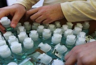 تولید مواد ضدعفونی کننده در دانشگاه علم و صنعت