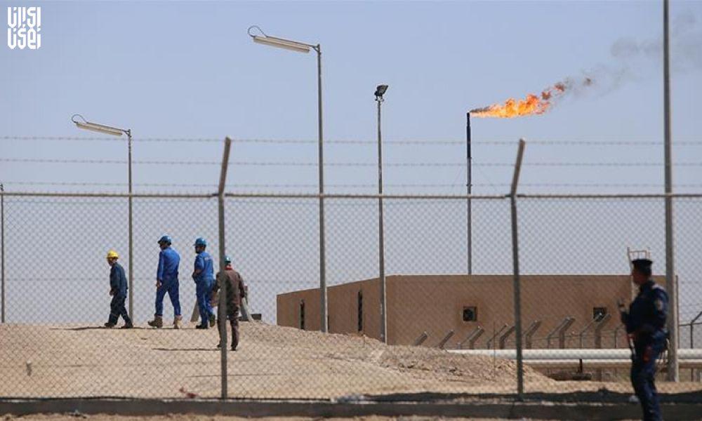 حمله راکتی به شرکت نفتی آمریکایی در بصره + فیلم