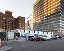 خیابان های خالی نیویورک در قرنطینه