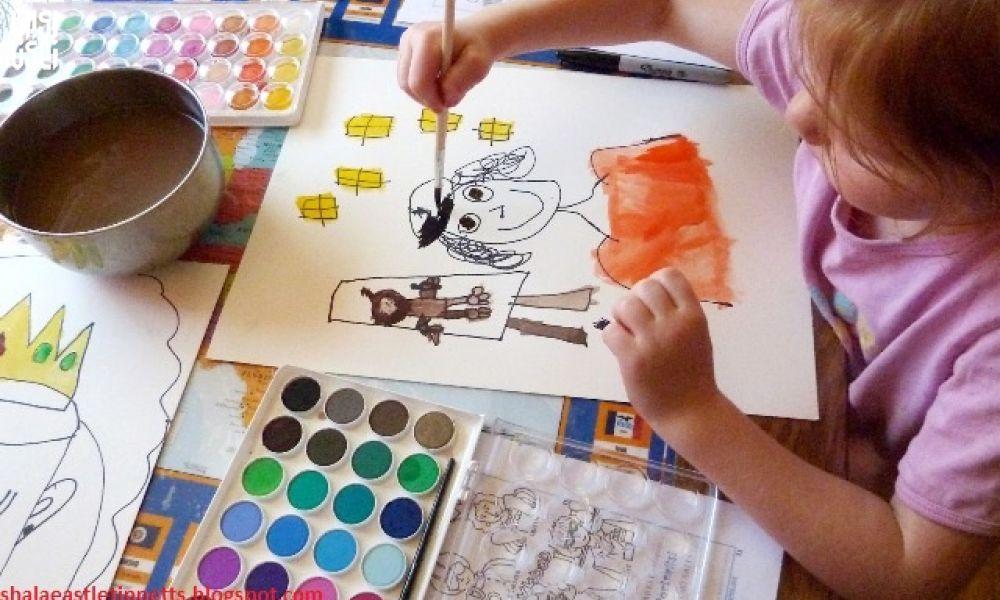 قرنطینه موضوع خلق آثار هنری کودکان و نوجوانان شود