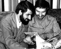 عکس های دیده نشده سپهبد شهید صیاد شیرازی و سردار حاجی زاده