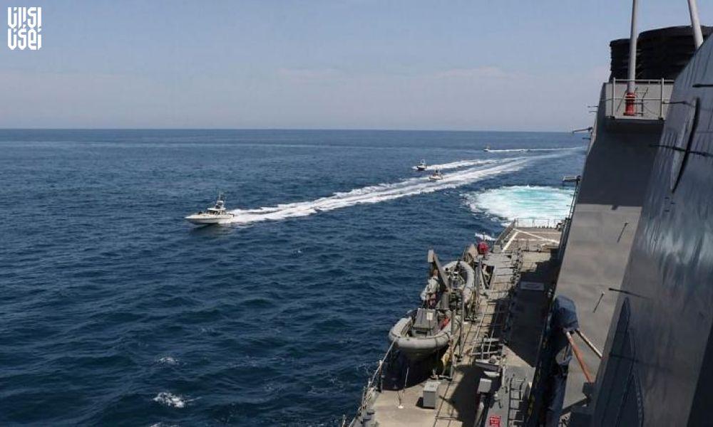 سنتکام مدعی مزاحمت ۱۱ شناور ایرانی برای کشتیهای آمریکایی شد