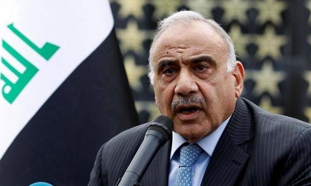 نامه سرگشاده نخست وزیر مستعفی عراق به روسای جمهوری و پارلمان عراق