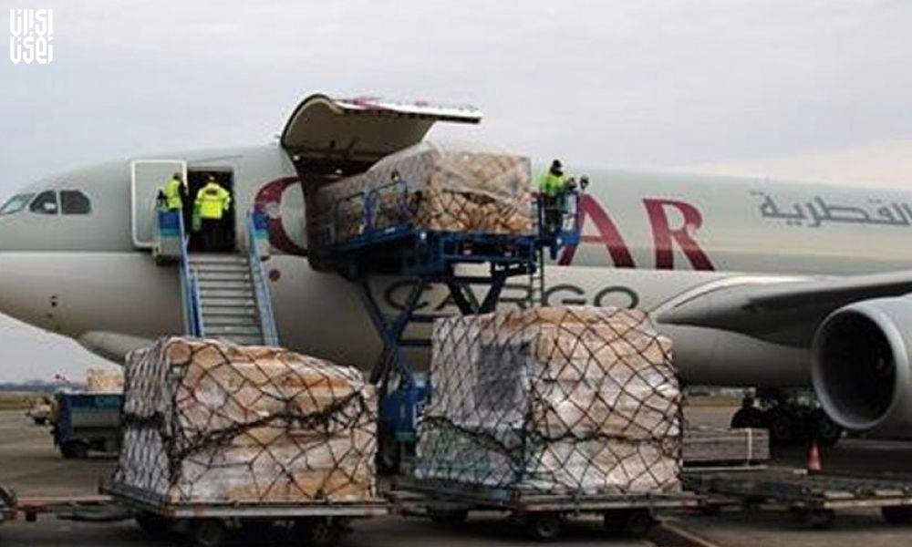 سومین محموله کمکهای دولت قطر وارد تهران شد