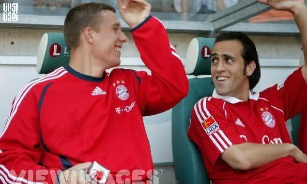 تمجید ستاره سابق تیم ملی آلمان از علی کریمی+ عکس