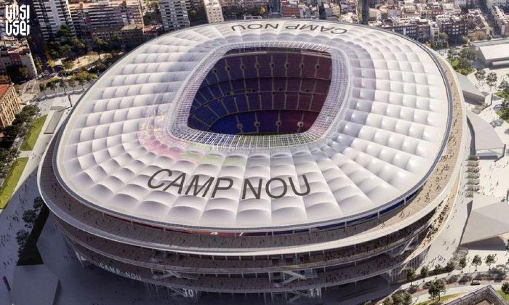 نام کمپانی تولید ماده مخدر روی ورزشگاه بارسلونا!