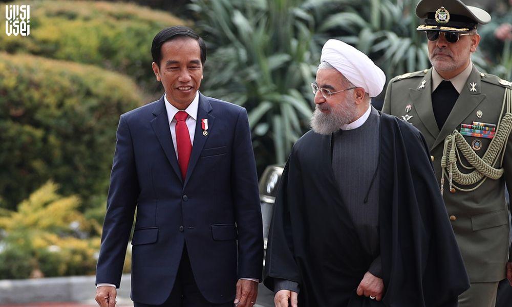 گفتوگوی رؤسای جمهور ایران و اندونزی
