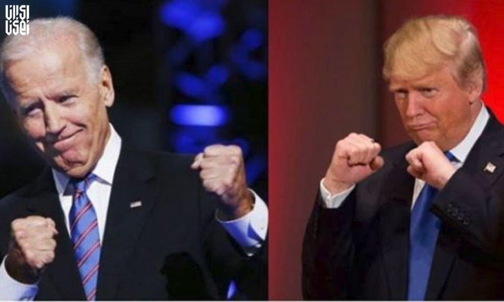 برتری انتخاباتی بایدن در برابر ترامپ