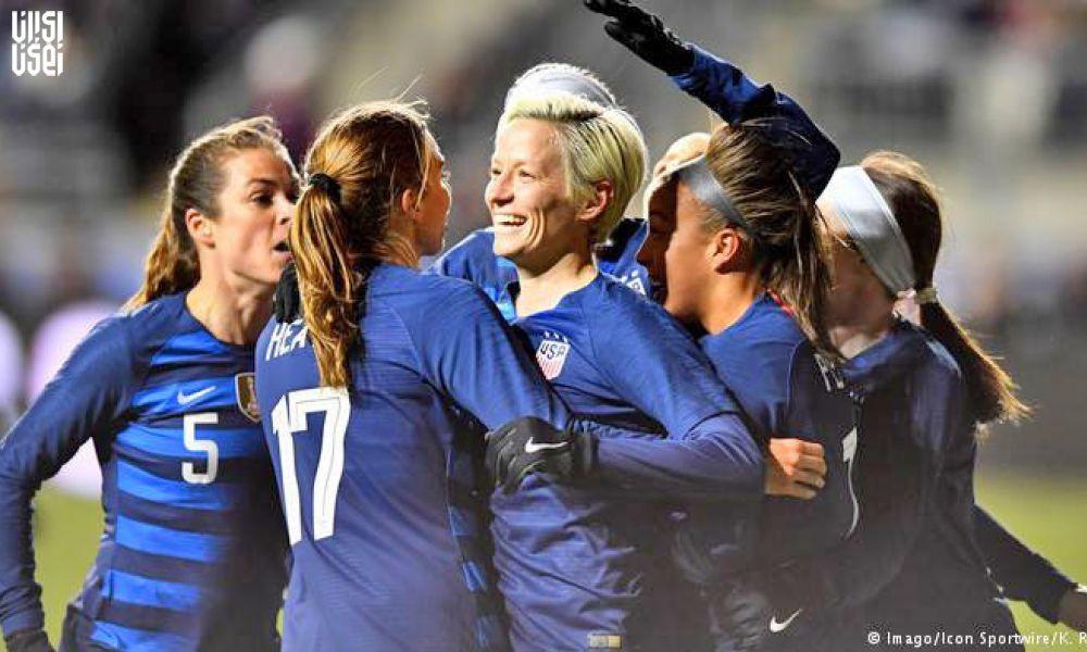 رد شکایت حقوق برابر تیم ملی زنان فوتبال آمریکا