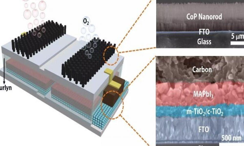 تبدیل آب به سوخت هیدروژنی بل کمک انرژی خورشیدی