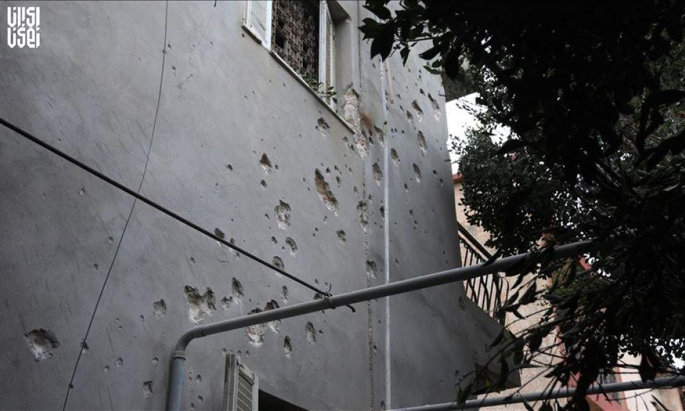 حمله راکتی نیروهای حفتر به منطقه دیپلمات نشین طرابلس لیبی