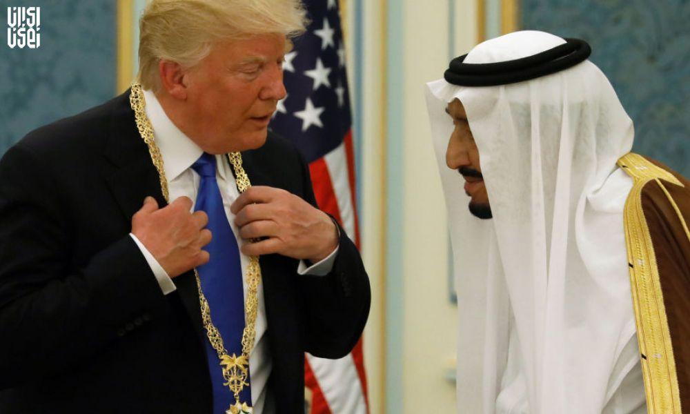 گفتگوی ترامپ و پادشاه عربستان سعودی