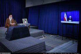 ارتباط تصویری ستاد ملی مبارزه با کرونا با رهبر انقلاب