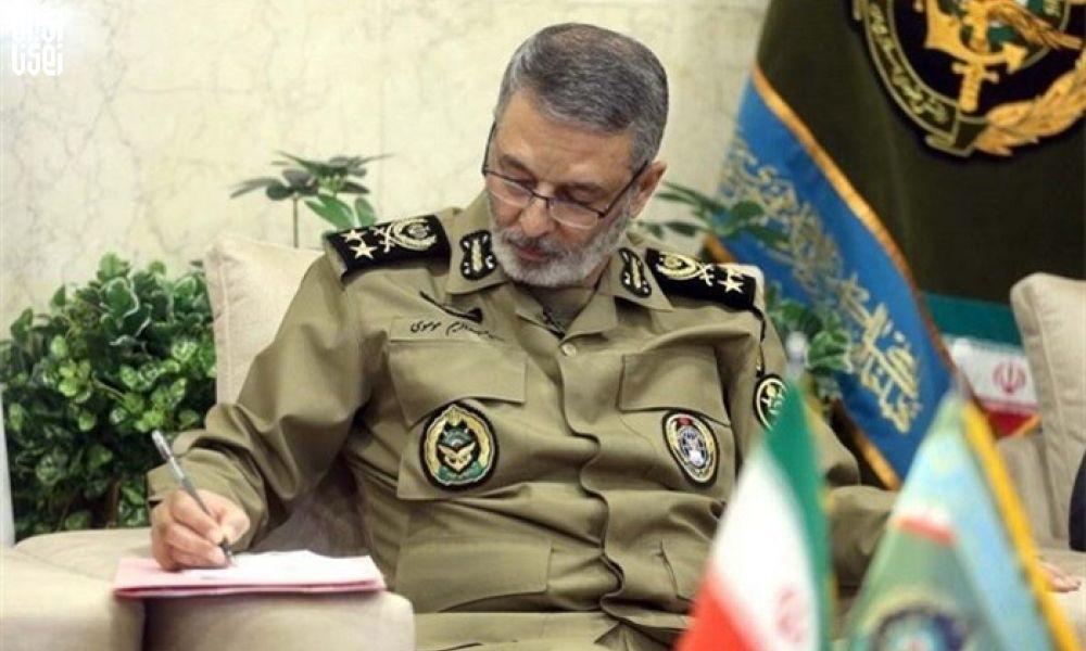 پيام فرمانده کل ارتش به مناسبت شهادت شماری از دريادلان ارتش