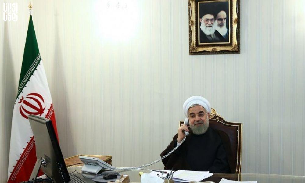 گفت و گوی روحانی و نخست وزیر عراق