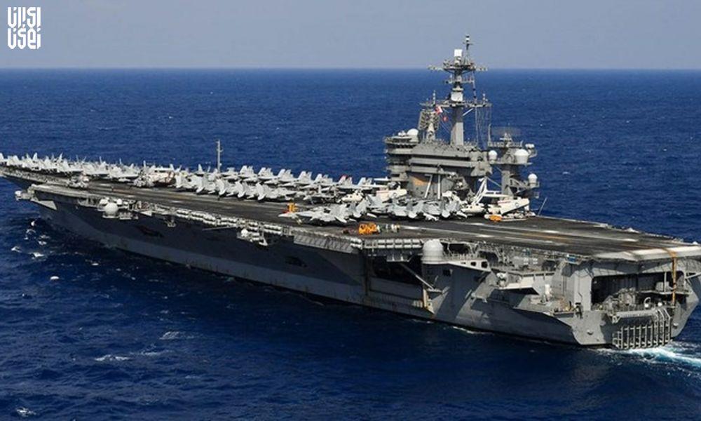 حفظ فاصله شناورهای نظامی با ناوهای آمریکا
