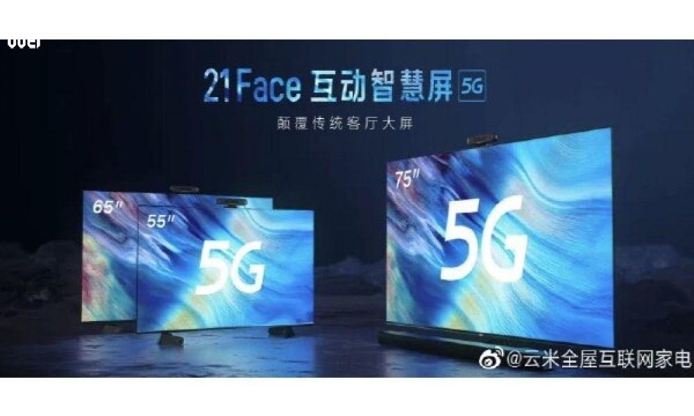 شرکت چینی از تلویزیون هوشمند 5G رونمایی کرد