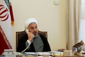 تماس تلفنی روسای جمهوری اسلامی ایران و جمهوری قزاقستان