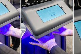 بررسی شست و شوی صحیح دست ها بوسیله اسکنر هوشمند