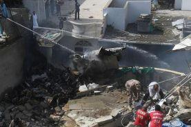 سقوط هواپیمای مسافربری پاکستان