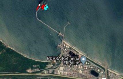 اولین نفتکش ایران در پالایشگاه الپالیتو ونزوئلا لنگر انداخت