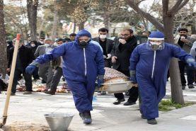 درگذشت 57 بیمار مبتلا به ویروس کووید-19 در 24 ساعت گذشته