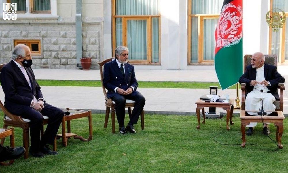 دیدار شورای عالی صلح افغانستان با هیات ایرانی