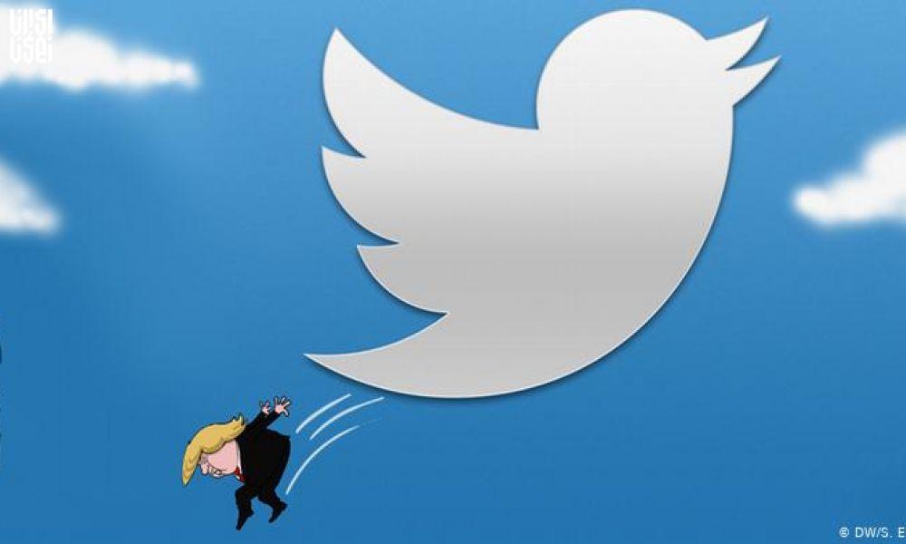 توییتر به توییت جنجالی دونالد ترامپ برچسب درستیسنجی زد