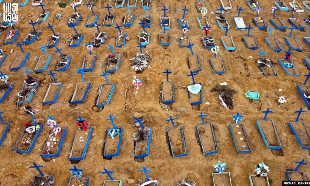 شیوع مرگبار کرونا در برزیل