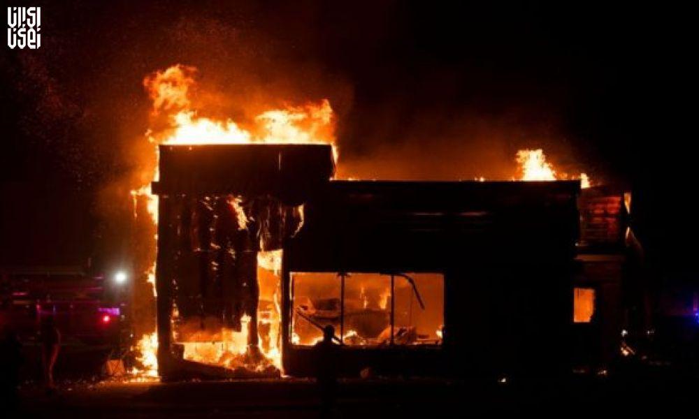 اعتراضات گسترده در خیابان های مینیاپولیس آمریکا
